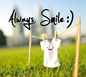 always smile