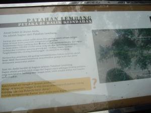 The crack of Lembang