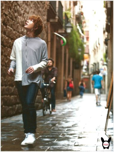 Onew in Barcelona