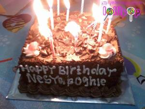 cake belongs to me and Oghie ^^ Thank u for Ines eonni & Aee.