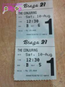 The Conjuring tickets