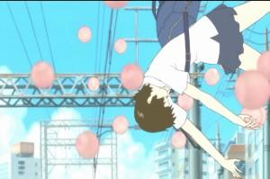 Makoto falls