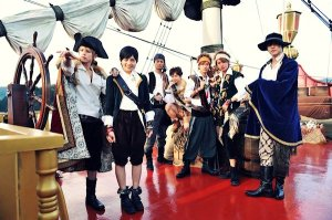 ouran-pirates cosplay
