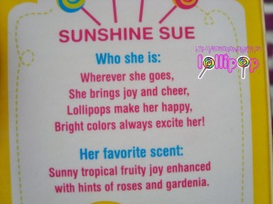 Sunshine Sue character